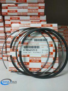 8980401250 - кольца поршневые стандартные 4HK1, 6HK1 Isuzu