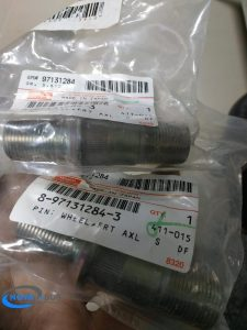 8971312843 - Шпилька передней левой ступицы; NQR71 Isuzu