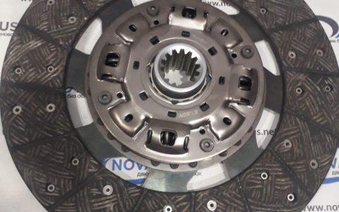 8981649171 - Диск зчеплення ведений КПП MZZ6, двигун 4НЕ1, 4НК1 Isuzu