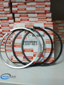 8943915023 - Кольца поршневые, Isuzu 6HK1 STD 115/2.95HK*2*2.5*3
