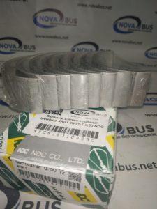Вкладыш шатуна комплект (ремонтные) 4HG1 4HG1-T 0,50 NDC Япония