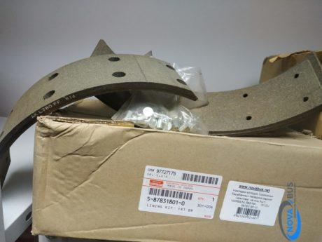 5878318010 — Накладка тормозной колодки (к-т 4 шт.) Isuzu  NLR85 PARTS GF902AF