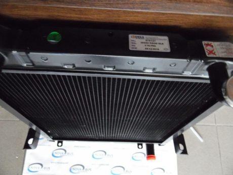 Радиатор основной на Isuzu NLR85, ERKA 2